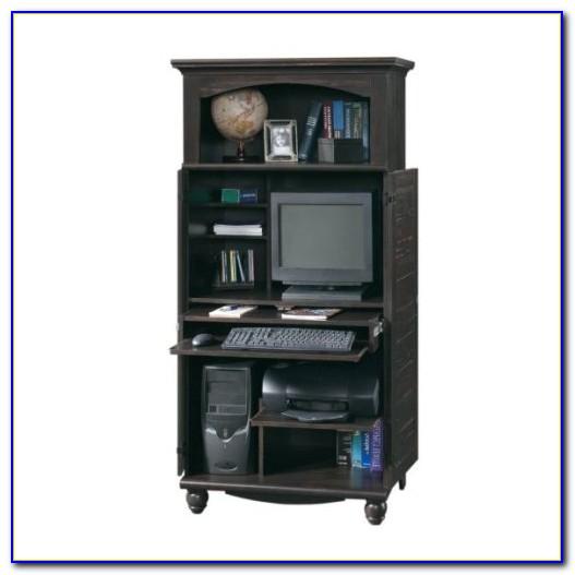 Sauder Cottage Home Computer Desk Armoire