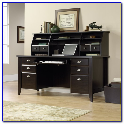 Sauder Desk And Hutch