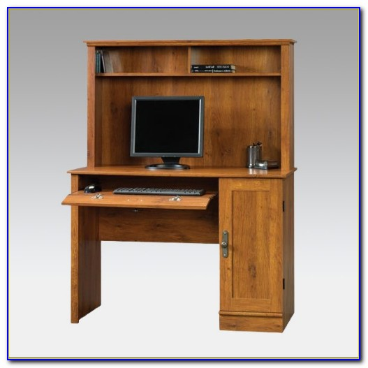 Sauder Desk Hutch Cherry