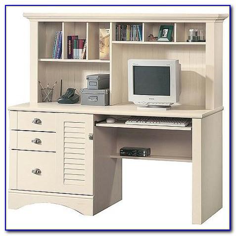 Sauder Desk Hutch White