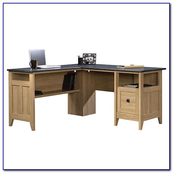 Sauder L Shaped Desk White