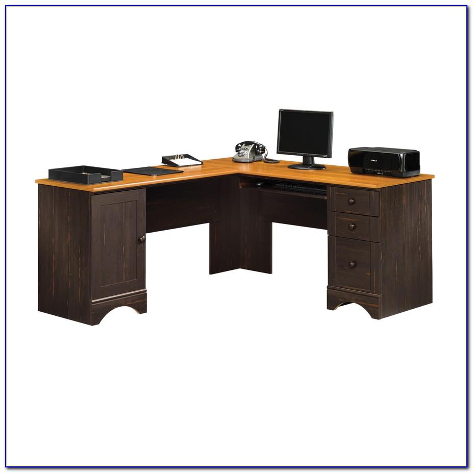Sauder L Shaped Desks With Hutch