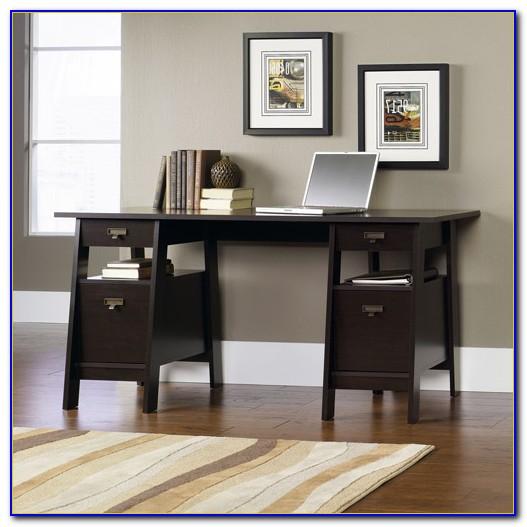 Sauder Stockbridge Executive Trestle Desk Canada