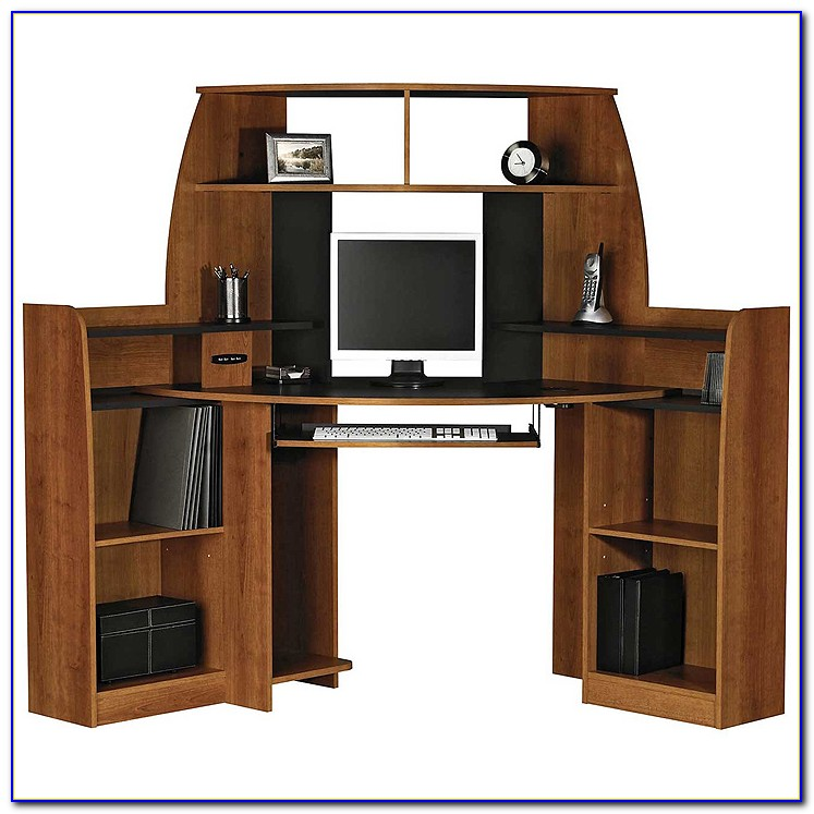 Sauder Tower Corner Computer Desk
