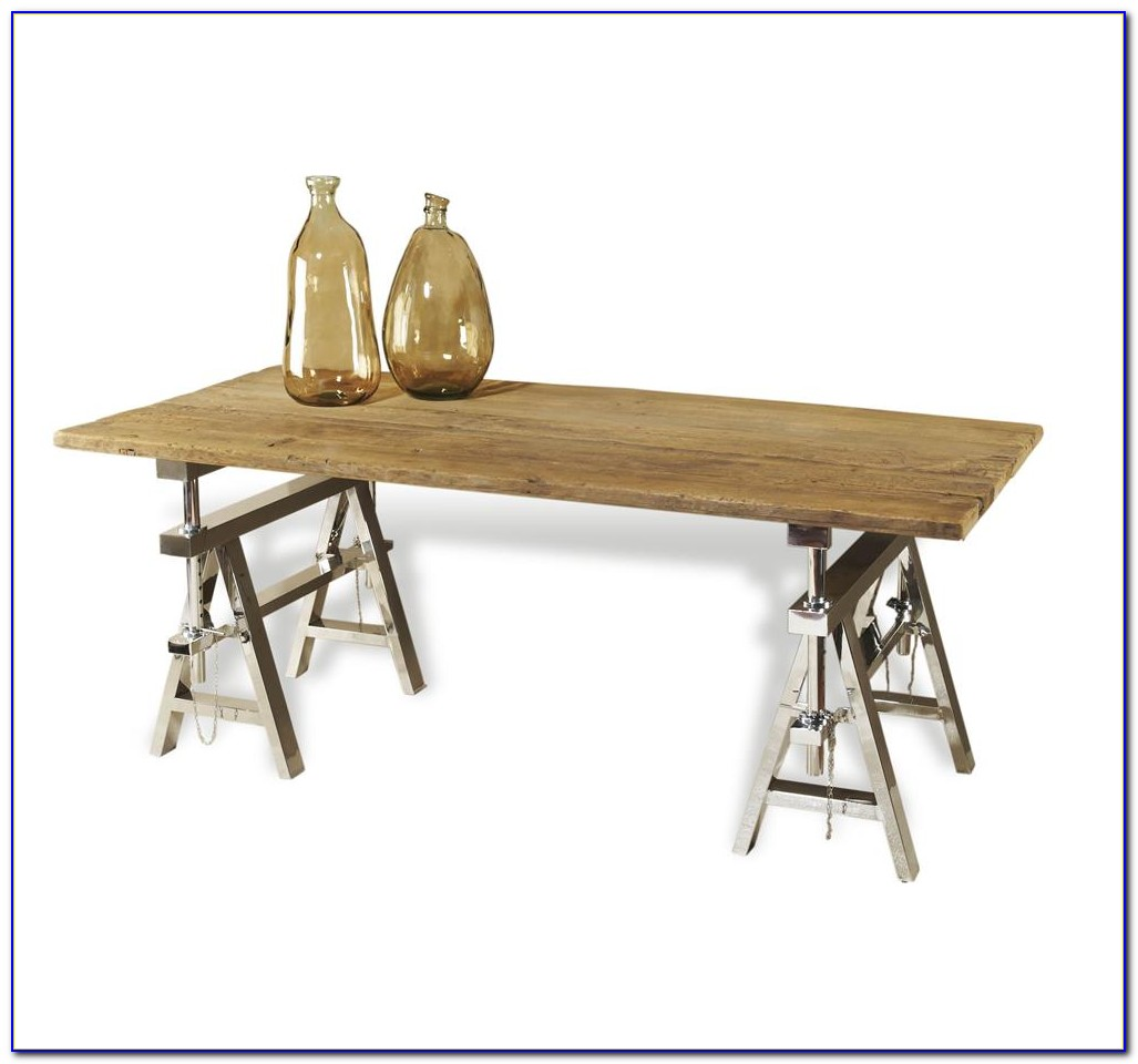 Sawhorse Legs For Table