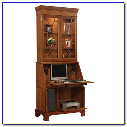 Secretary Desk For Computer
