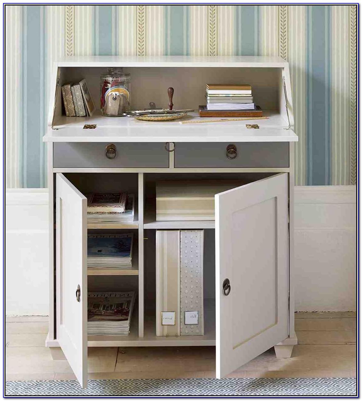 Secretary Desk For Desktop Computer