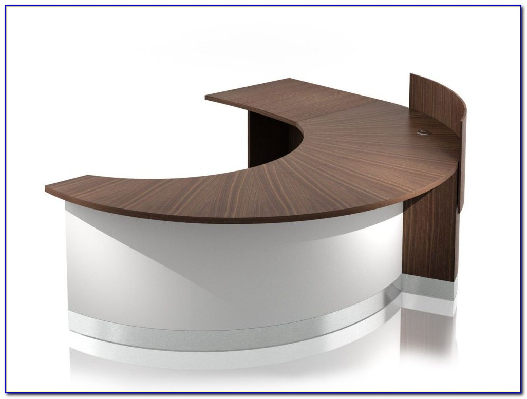 Semi Circular Reception Desk
