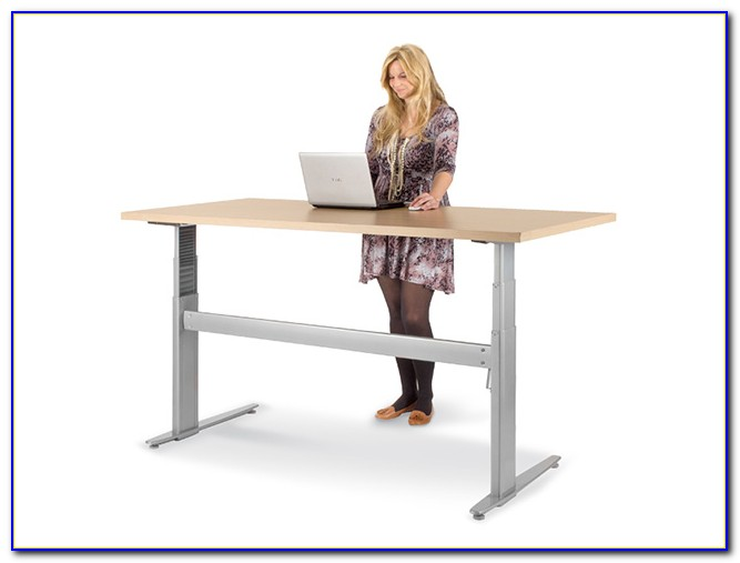 Sit Stand Electric Height Adjustable Desk