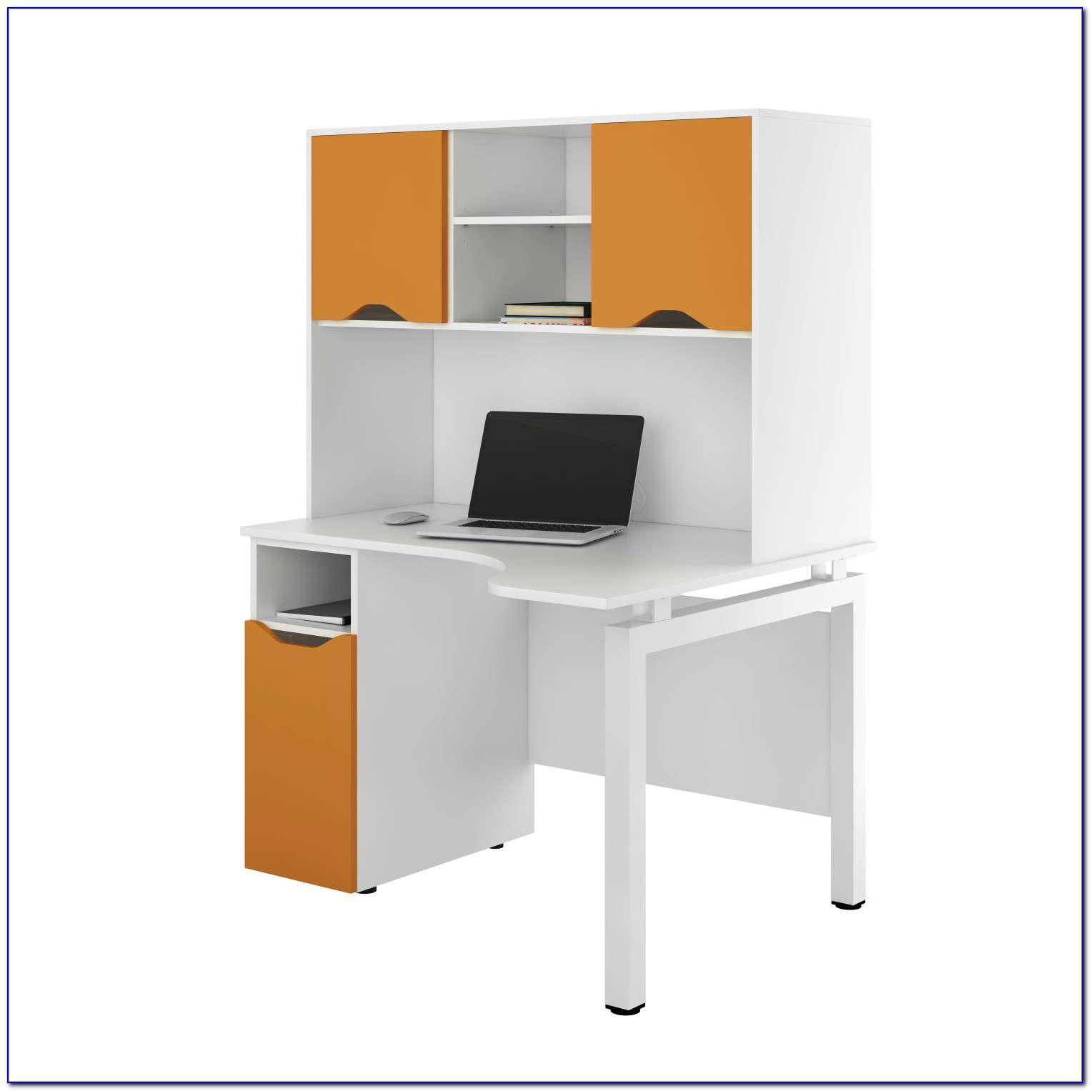 Small Computer Desk With Cpu Storage