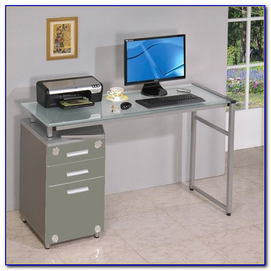 Small Computer Desk With File Drawer