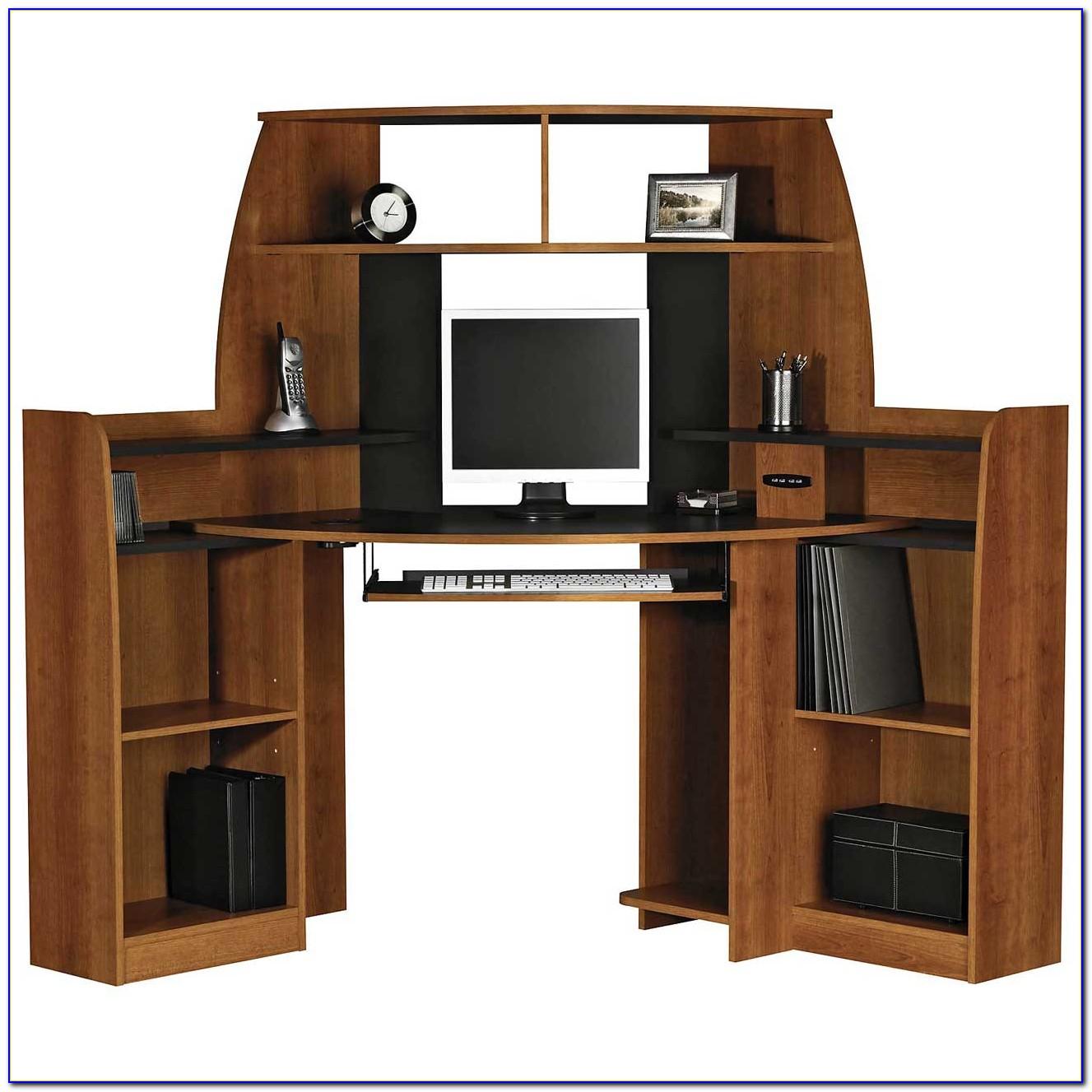 Small Desk With Cpu Storage