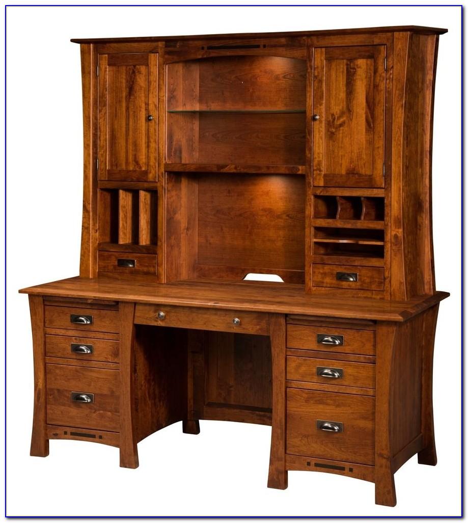 Solid Wood Corner Desk Home Office