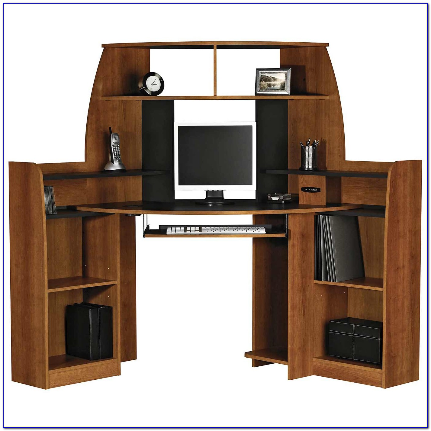 Staples Computer Desk With Hutch