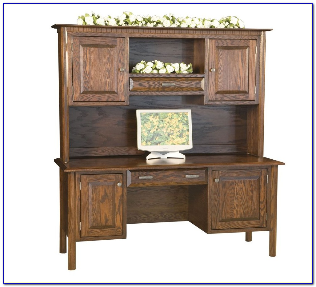 Traditional Solid Wood Executive Desk