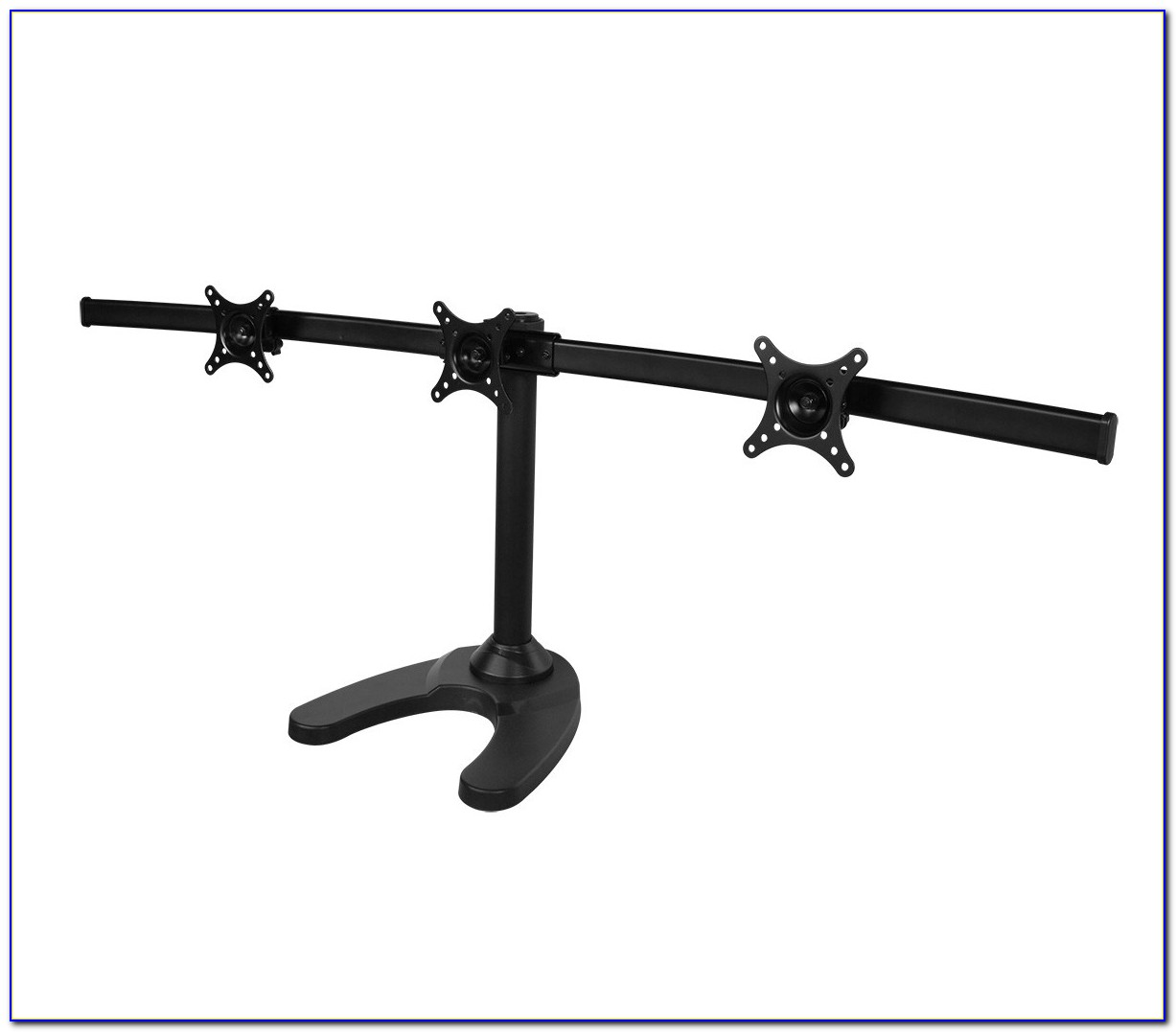 Triple Monitor Desktop Stand