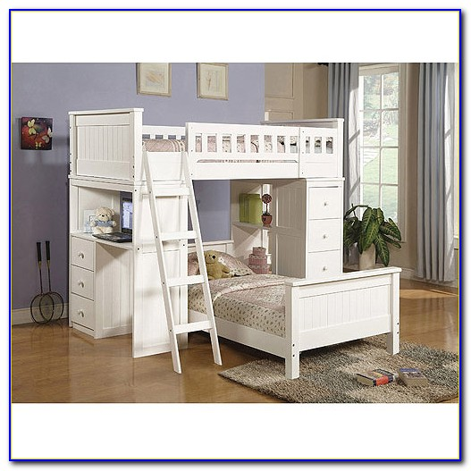 Twin Bunk Bed With Desk Ikea