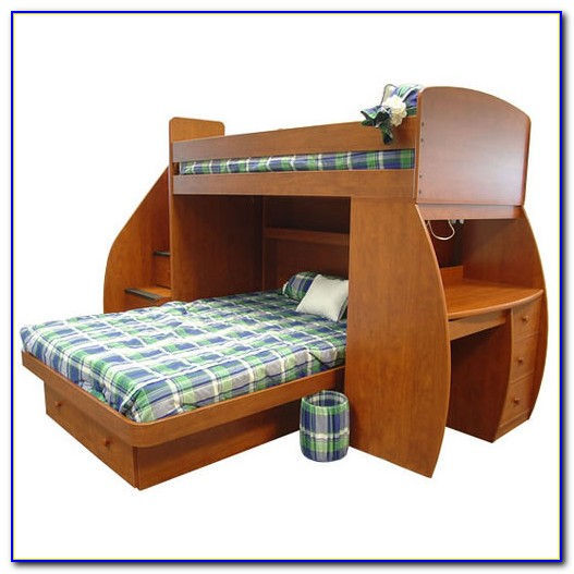 Twin Over Twin Bunk With Desk