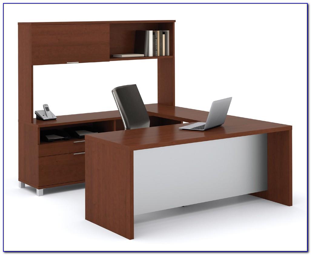 U Shaped Desks With Hutch