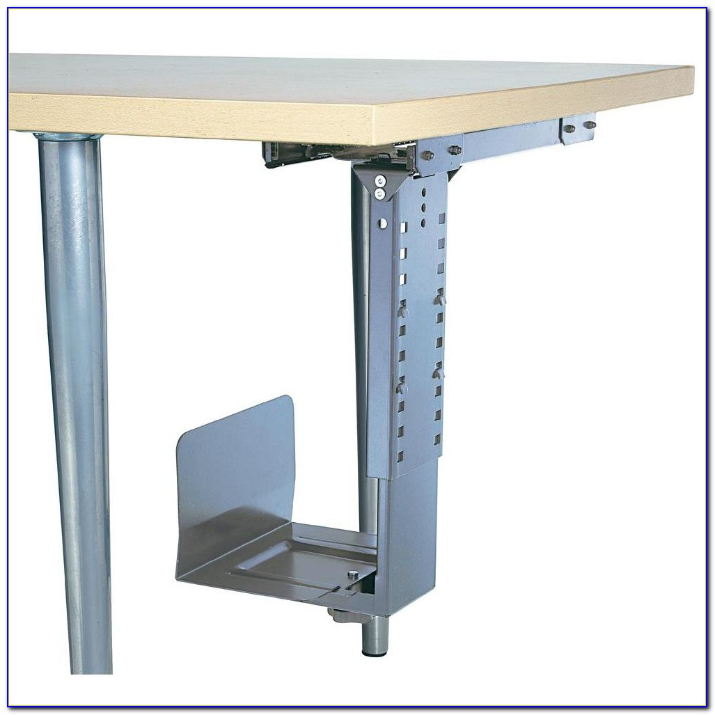 Under Desk Computer Monitor Mount