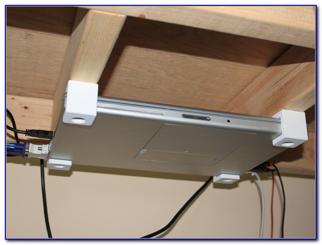 Under Desk Laptop Mount