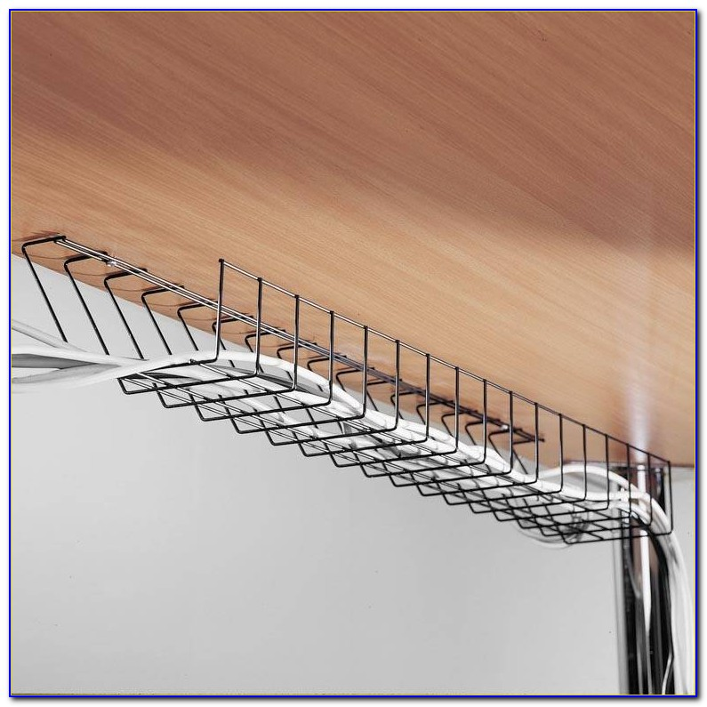 Under Desk Wire Cable Tray