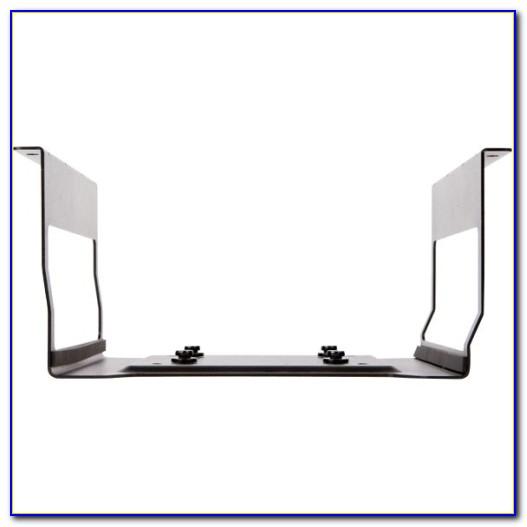 Under Table Laptop Shelf