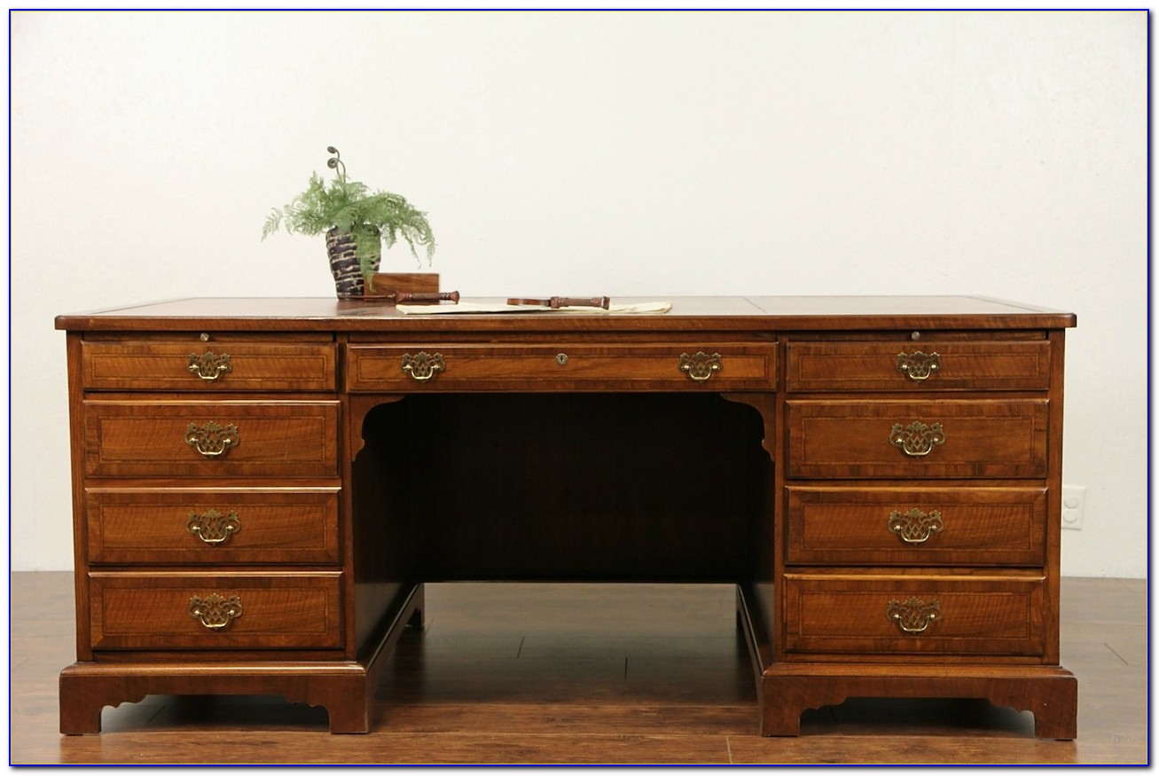 Used Executive Desk And Credenza