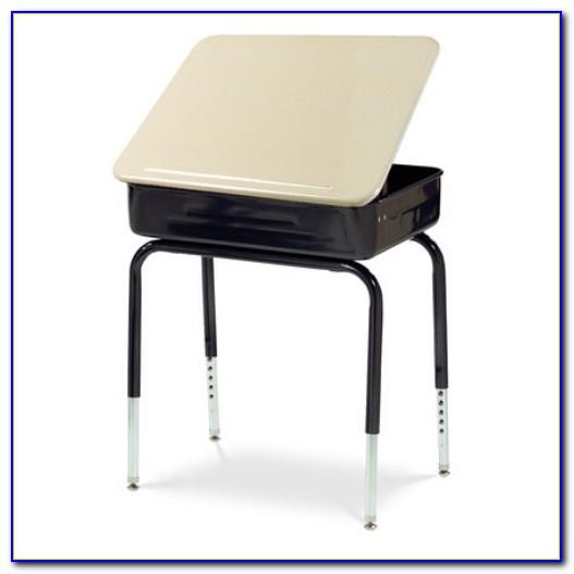 Used Lift Lid School Desk