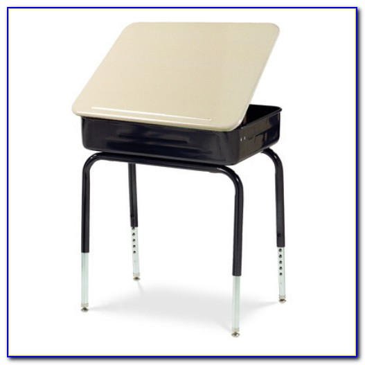 Used Lift Top School Desk