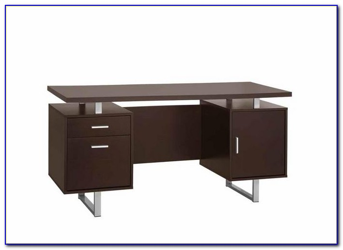 Used Office Desk And Credenza