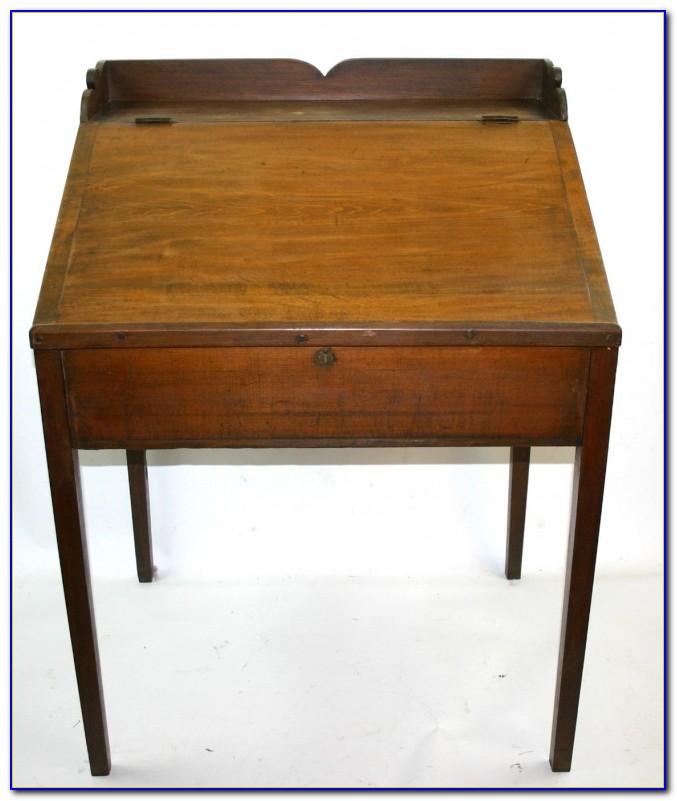 Vintage Lift Top School Desk