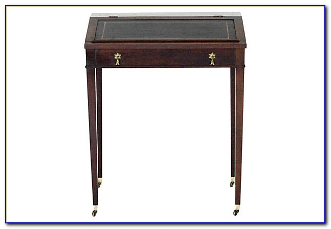 Vintage Slant Top Writing Desk