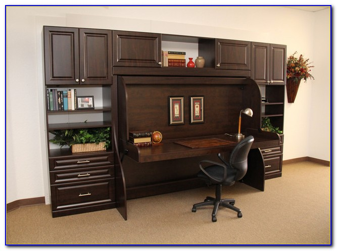 Wall Bed Computer Desk