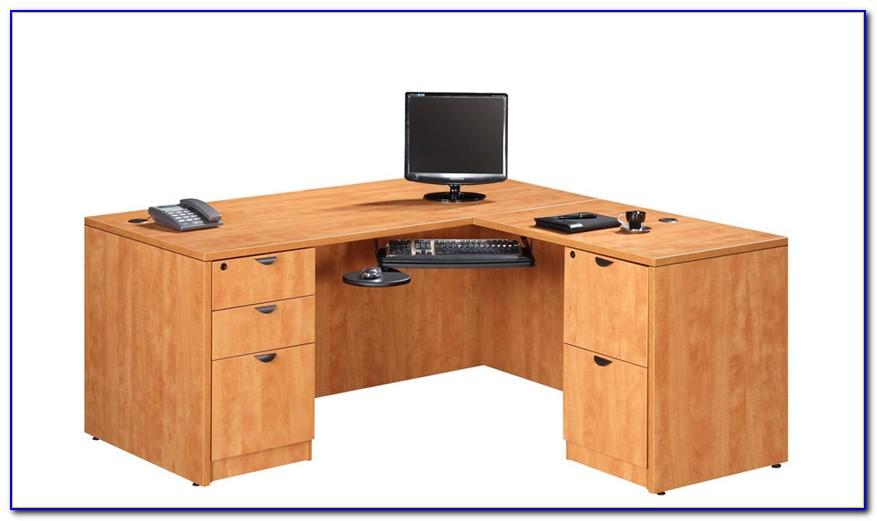 Whalen L Shaped Executive Desk