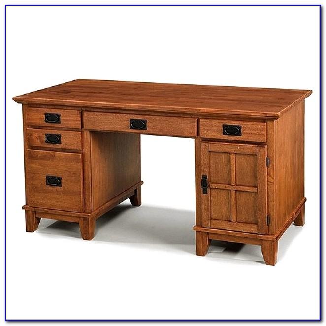 Wood Mission Oak Corner Computer Desk