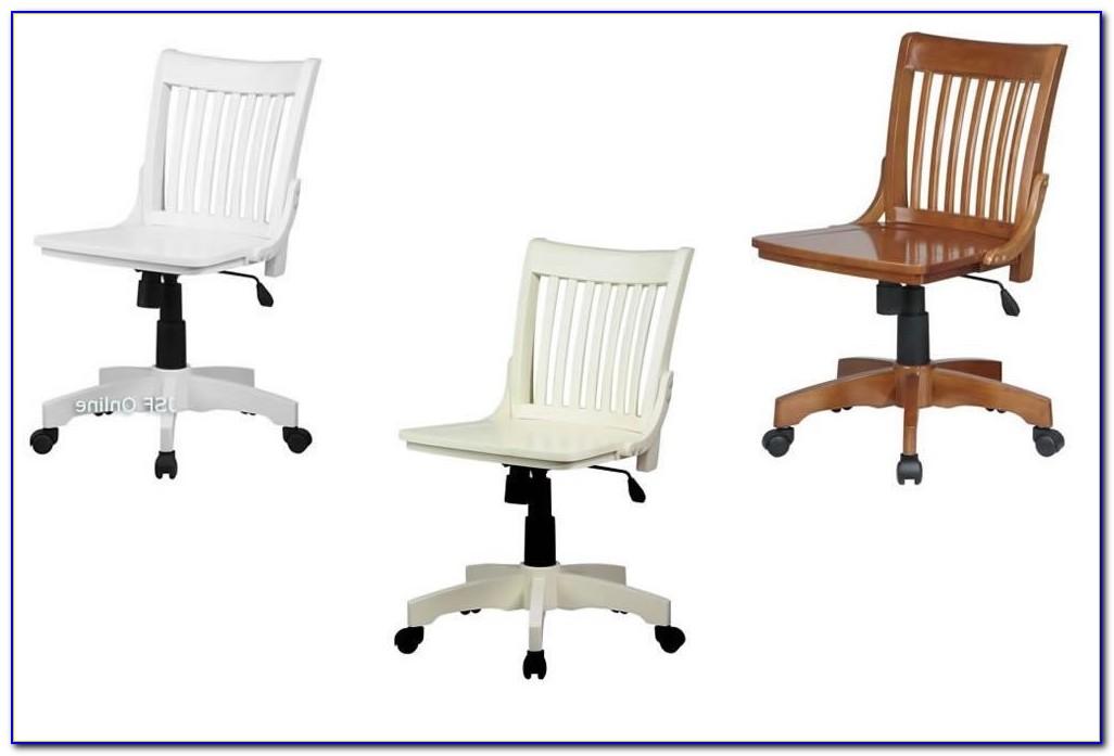Wood Swivel Desk Chair Uk