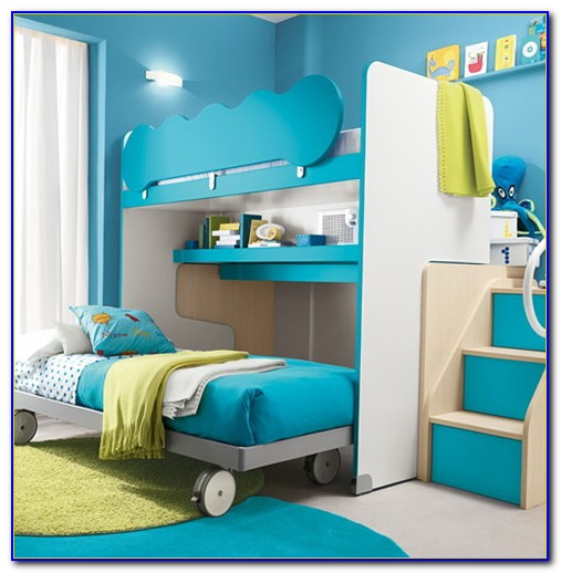Youth Loft Bed With Desk Canada