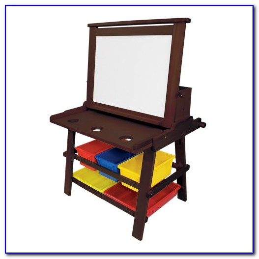 2 In 1 Art Desk And Easel