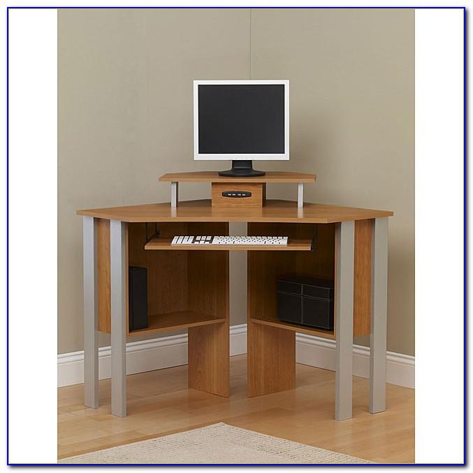 Ameriwood Black Corner Computer Desk