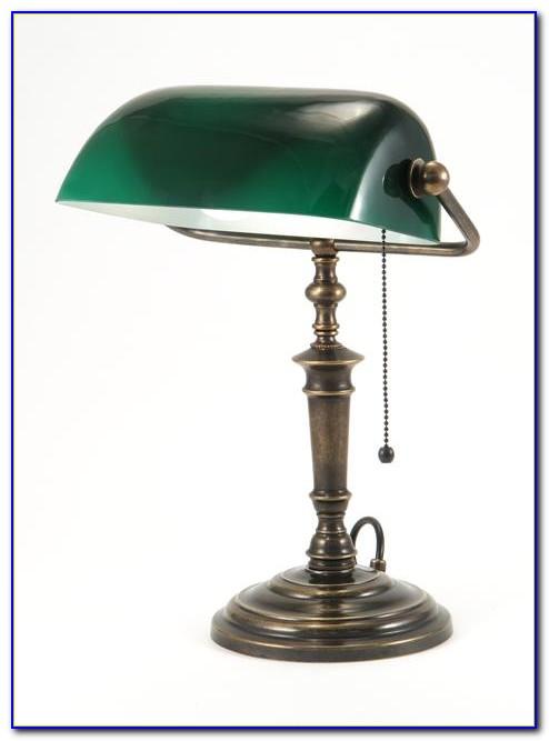 Antique Bankers Desk Lamp Uk