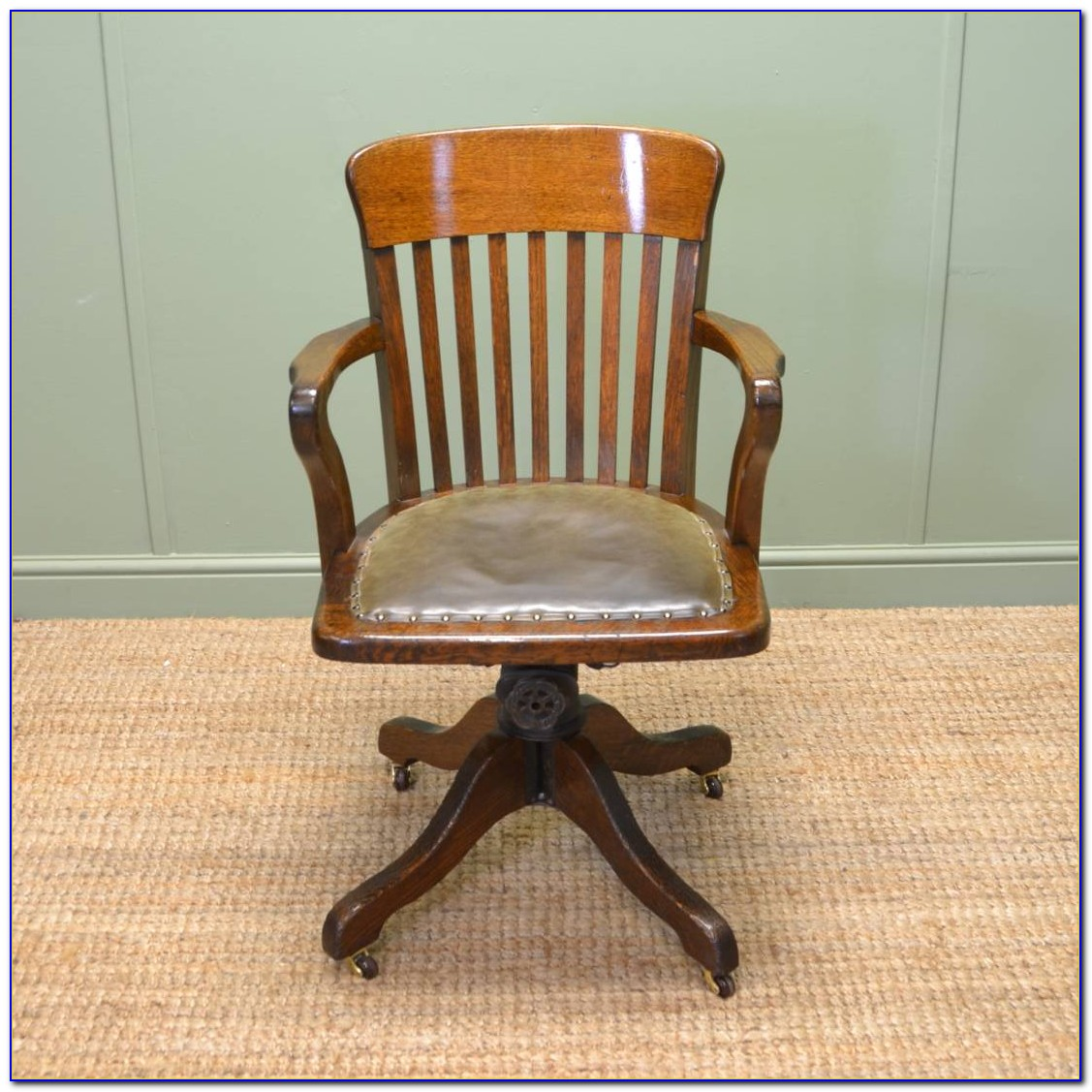 Antique Office Swivel Chairs