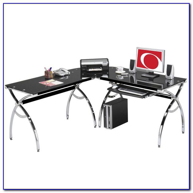 Black L Shaped Computer Desks