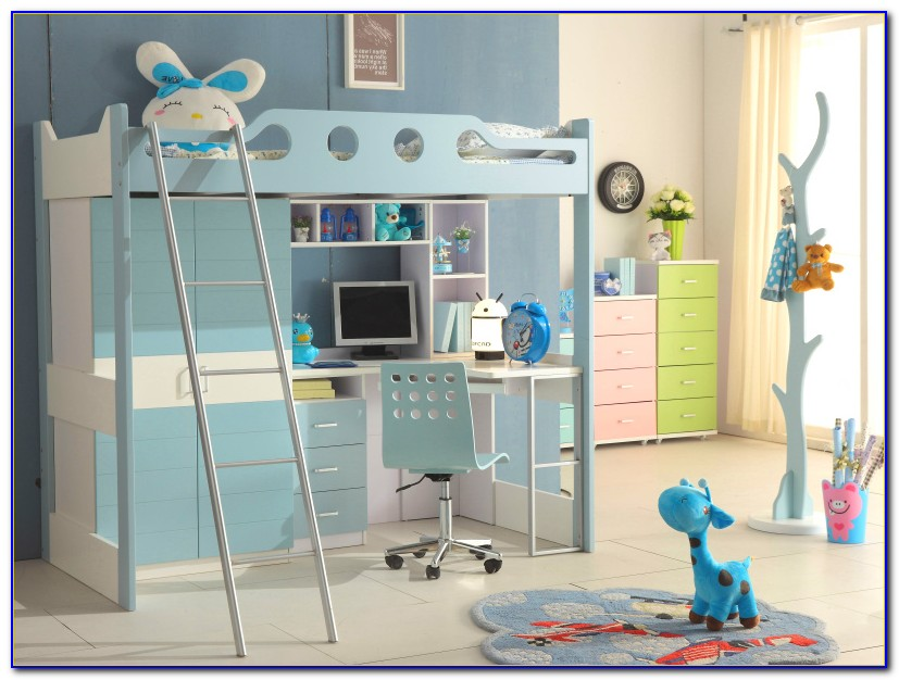 Boy Bunk Beds With Desk