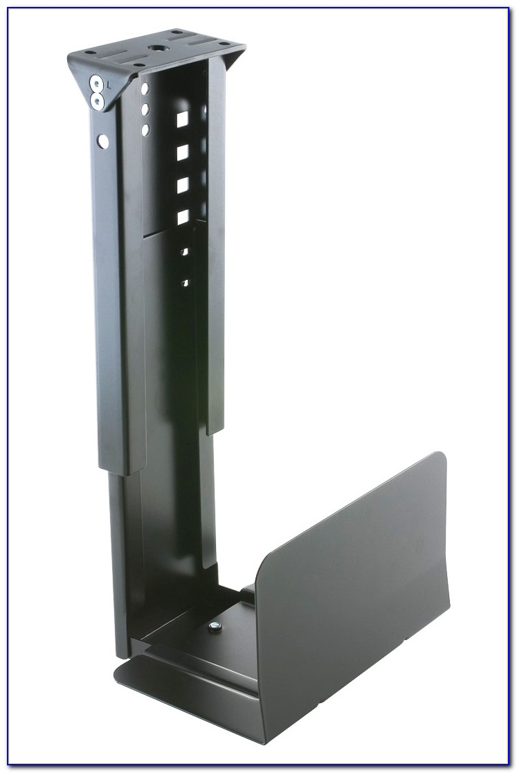 Brateck Cpu Holder Under Desk Mount Black