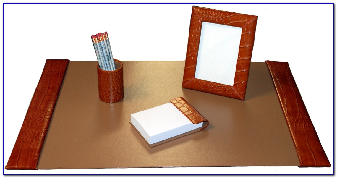 Brown Desk Pads And Blotters