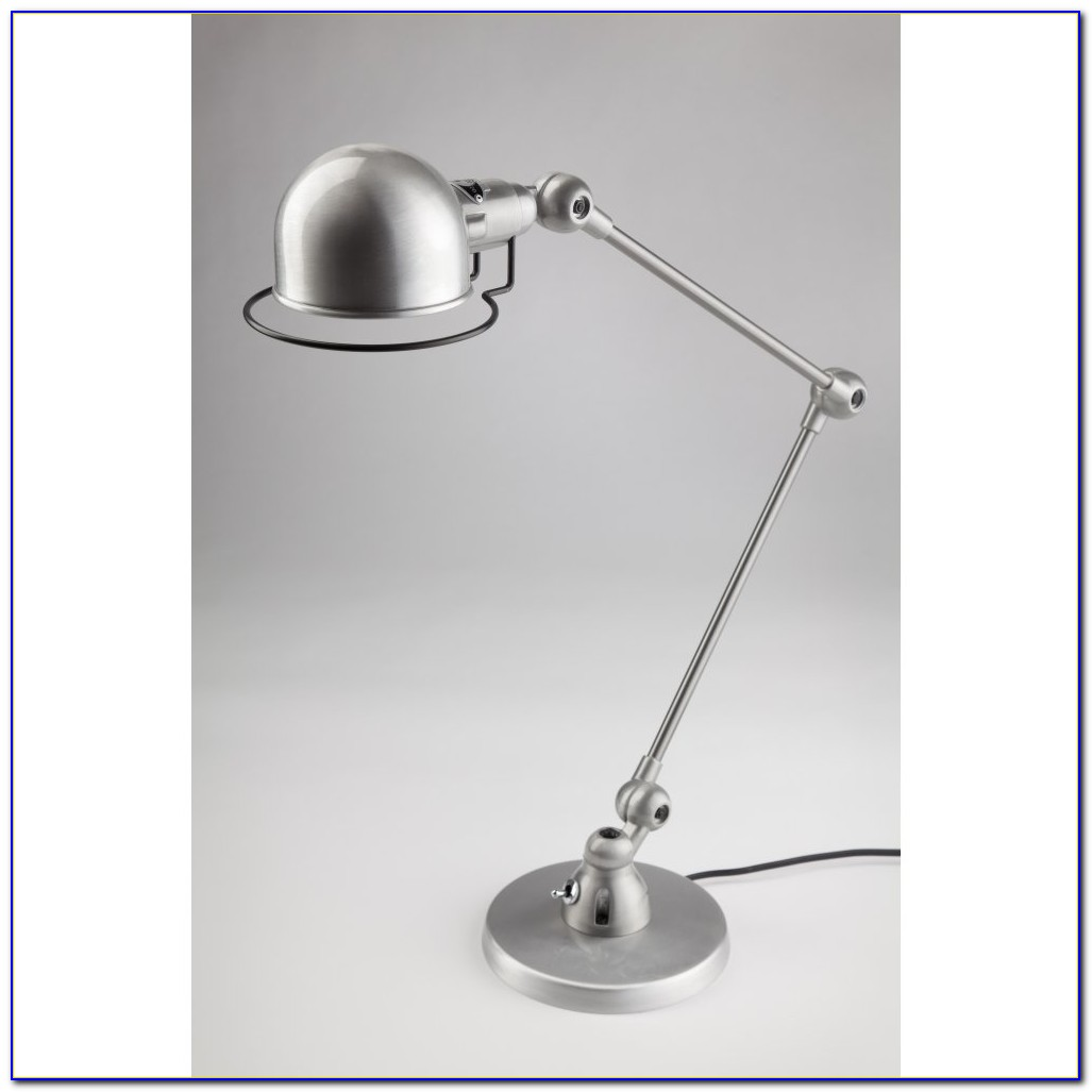 Brushed Steel Led Desk Lamp