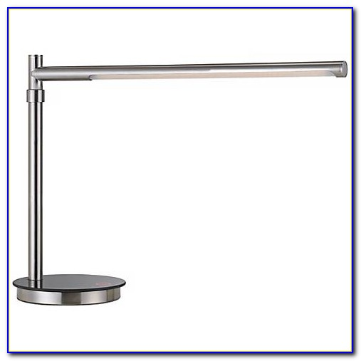 Brushed Steel Table Lamp Base