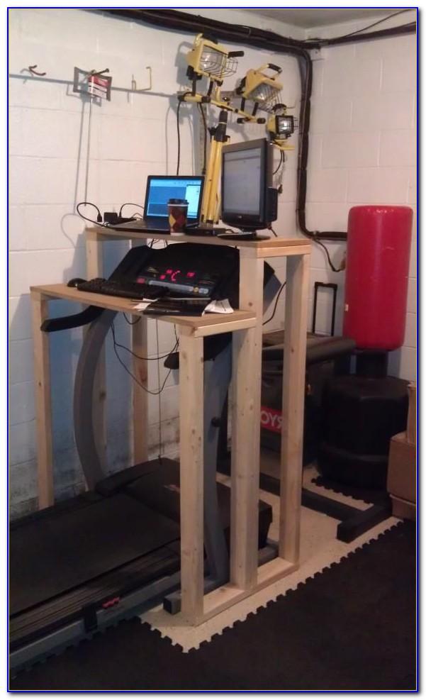 Building A Treadmill Desk