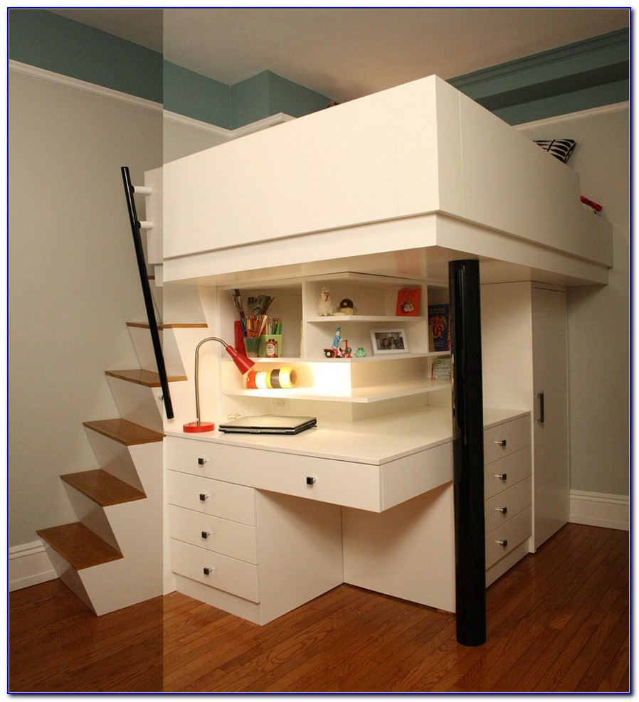 Bunk Bed Desk Combo Uk
